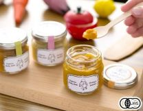 6 organic vegetable baby foods